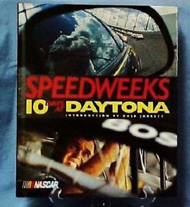 "NASCAR 1st Edition ""Speedweeks 10 Days At Daytona"" Racing Fans Book EUC"
