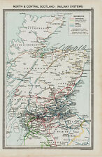 North and Central Scotland Railway Systems  in 1908