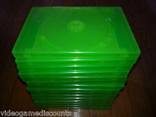 Lot of 15 Xbox 360 2 Disc Genuine Microsoft OEM Replacement Game Case CD DVD Box