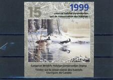 Canada Wildlife Conservation Mint Issue 1999