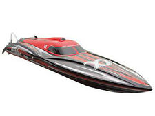 RC Rennboot Speedboot ALPHA red Brushless 80km/h 4S -6S Lipo 106cm 2,4 GHz NEU