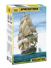 Zvezda 1/100 Brigantine Sailing Ship