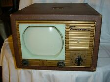Emerson 600 series television in leatherette case - rare - Mint - Reduced More!