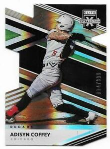 2020 Elite Extra Edition Adisyn Coffey Rookie Decade Die Cut White Sox #034/999