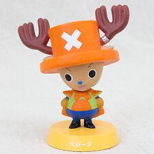 Dragon Ball Z x One Piece Bobble Head Figure Chopper Man × Vegeta JAPAN