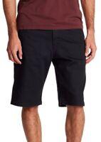 Levi's 569 Mens Shorts Black Size 40 Loose Fit Straight Stretch Denim $45 294