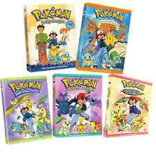 Pokemon: Complete Indigo + Orange Islands + Masterquest + Johto Box/DVD Sets NEW