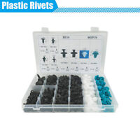 405Pcs 8 Kinds Plastic Fastener Rivet Push Pin Clips With Box for Car Vehicle