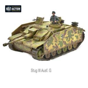 Stug III Ausf G, Gernam Tank Destroyer, Bolt Action, Warlord Games.