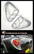2005-2009 Mitsubishi L200/ Triton CHROME Tail Rear Light Surround Cover WARRIOR