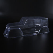 PVC Climbing Car Jeep Body Shell For 1:10 Scale RC Crawler Car D90 Transparent