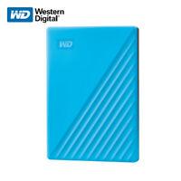 WD 1TB 2TB 4TB 5TB My Passport Portable External Hard Drive USB 3.2 Gen 1 BLUE