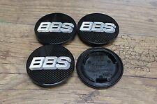 Original BBS emblema 70mm rs/rm carbon plata 09.24.282 llantas tapa tapa del cubo