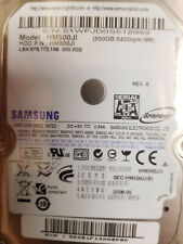 "Samsung HM500JI REV. A 500GB 2.5"" Hard Drive PN: 32481F14AA0P8K"