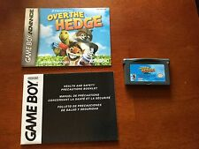 Over the Hedge - Nintendo Game Boy Advance - Complete