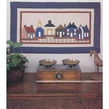 VILLAGE WALK QUILT QUILTING PATTERN, by Four Corners Designs *NEW*