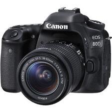 Appareils photo numériques Canon Canon EOS Canon EOS 80D