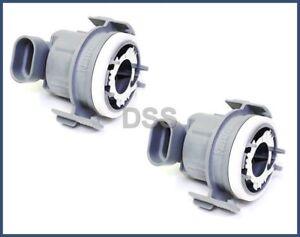 Genuine Headlight Low Beam Bulb Holders Sockets 2pcs Bmw 3-Series E46 6312838020