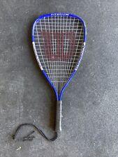 Wilson Racquetball Racquet Titanium Express Blue And White