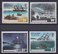 Militär Marine Kriegsschiffe Pitcairn Mi Nr. 432 - 435 **, postfrisch, MNH