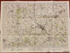 Map of Luton WW2, WAR REVISION 1940 Ordnance Survey Sheet #95