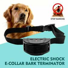 Anti Bark Electric Shock Dog E-Collar Stop Barking Pet Training Collar Control