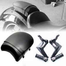 Black Rear Seat W/ Passenger Footpegs For Victory Vegas Kingpin Boardwalk Gunner