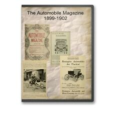 The Automobile Magazine 1899-1902 on CD - B541