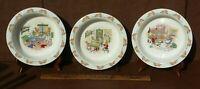 Bunnykins Royal Doulton Bowl English Fine Bone China 3 Different Pieces Vintage