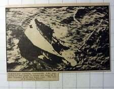 1942 Norwegian Tanker Varanger Hit By Three Torpedoes New Jersey Coast