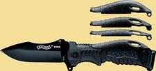 P99 - Walther Einhandmesser Taschenmesser Klappmesser Mit Nylonholster NEU 50749