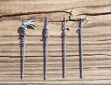 40K Dark Eldar Raider Trophy Poles/Lances Bits 4 Bitz