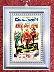 Marilyn Monroe HOW TO MARRY A MILLIONAIRE Retro Nostalgic Christmas Ornament
