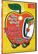 The Busy World of Richard Scarry Complete Series DVD Set TV Cartoon Kid Children