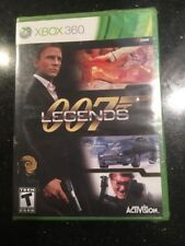 007 Legends Microsoft Xbox 360 Brand New Factory Sealed