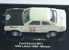 FORD ESCORT MARK MK1 WRC 1000 LAKES RALLY 1968 Widea Scale 1/87 HO BOXED