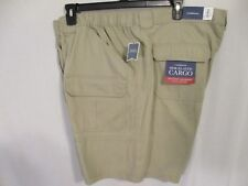 ed96ebef Croft & Barrow 100%25 Cotton Relaxed Fit SIde Elastic Cargo Shorts SR$36-