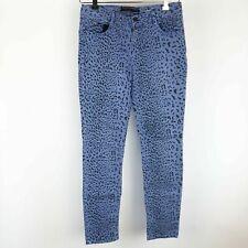 Vanilla Star Jeans Skinny Purple Size 15 Juniors  Leopard Cheetah Animal print