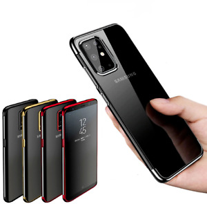 For Samsung Galaxy S20 S10e S10 Plus S9 S8 Silicone Gel Shockproof Case Cover