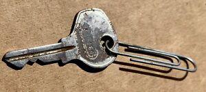 PORSCHE 356 356A 356B 356C ORIGINAL STEEL KEY K169