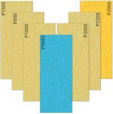 35 Papier de Verre 5000 3000 2500 2000 1500 1000 800 Grain Papier abrasif Humide