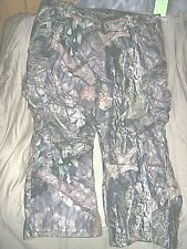 Mens 3X Camo Pants Water Proof Hunting Pants Mossy Oak Country Insulated Pants