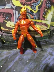 Marvel Legends HUMAN TORCH  Johnny Storm loose action figure Fantastic Four