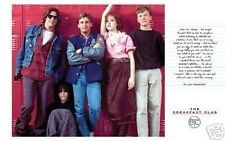 BREAKFAST CLUB The Lockers Classic 1980's Movie Poster - PRINT IMAGE PHOTO -D10