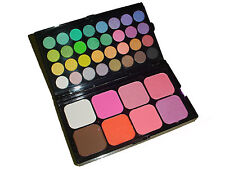 40 COLOR EYESHADOW BLUSH CONTOUR Manly Professional Cosmetics Beauty Mini set #1