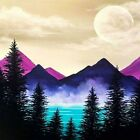 DIY 5D Diamond Painting Embroidery Landscape Cross Stitch Kits Home Decor Gifts