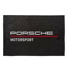 Porsche Flag - Porsche Motorsport Team Flag (Black)