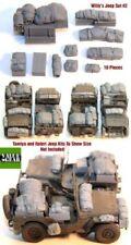 Vehículos militares de automodelismo y aeromodelismo Willys