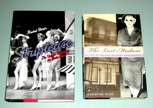 2 books NEW ORLEANS UNDERWORLD PROSTITUTION HISTORY STRIPTEASE SEXUAL REVOLUTION