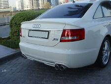 Painted Process Trunk Spoiler for Audi A6 C6 ABT Saloon 2004-2008
